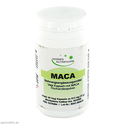Maca, 60 ST, G & M Naturwaren Import GmbH & Co. KG