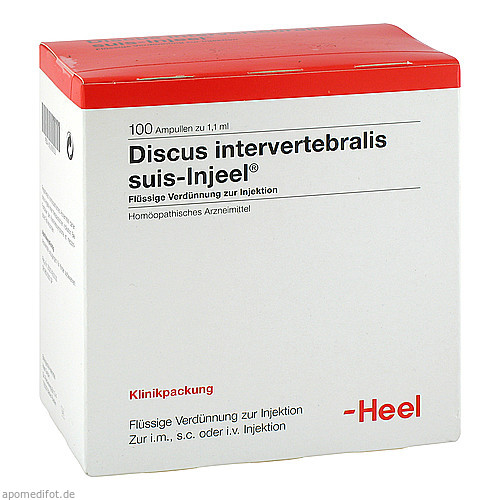 DISCUS INT SUI INJ OR, 100 ST, Biologische Heilmittel Heel GmbH