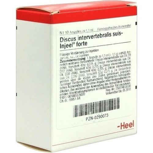 DISCUS INT SUI INJ FORT OR, 10 ST, Biologische Heilmittel Heel GmbH