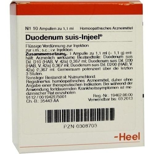 DUODENUM SUIS INJ OR, 10 ST, Biologische Heilmittel Heel GmbH