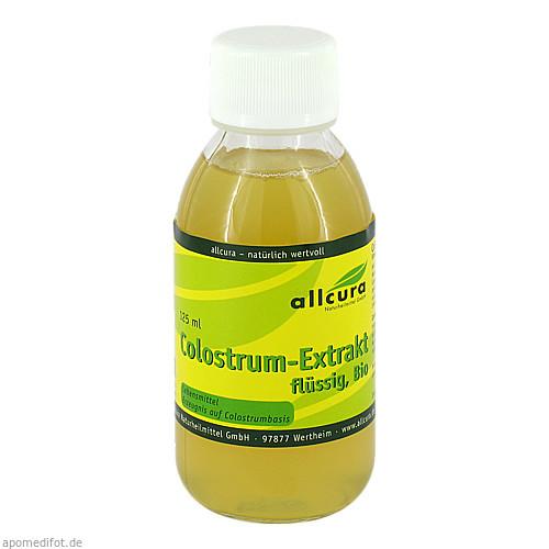 Colostrum Extrakt flüssig Bio, 125 ML, Allcura Naturheilmittel GmbH