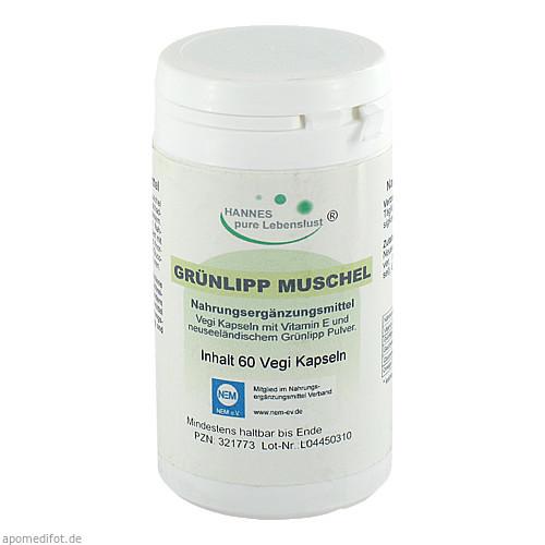 Grünlipp-Muschel Kapseln, 60 ST, G & M Naturwaren Import GmbH & Co. KG