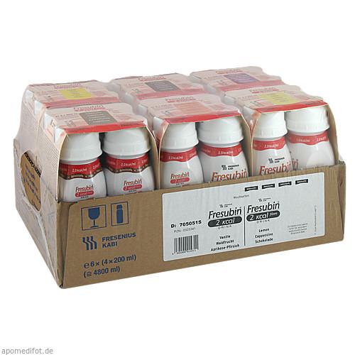Fresubin 2 kcal DRINK Mischkarton Trinkflasche, 24X200 ML, Fresenius Kabi Deutschland GmbH