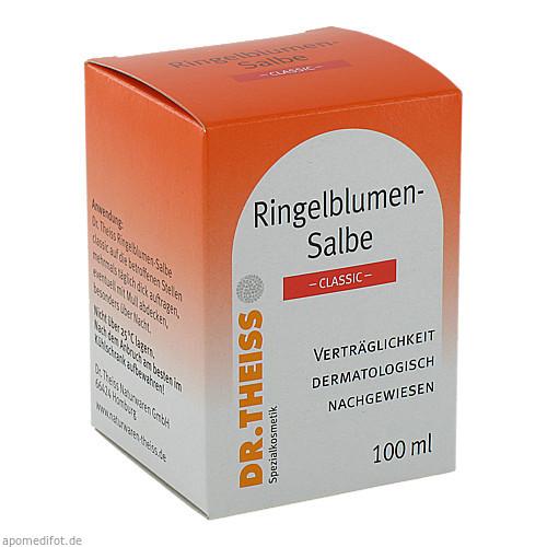 Dr.Theiss Ringelblumensalbe classic, 100 ML, Dr. Theiss Naturwaren GmbH