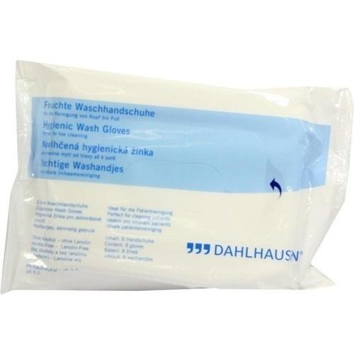 Waschhandschuhe waschen o.Wasser, 8 ST, P.J.Dahlhausen & Co. GmbH