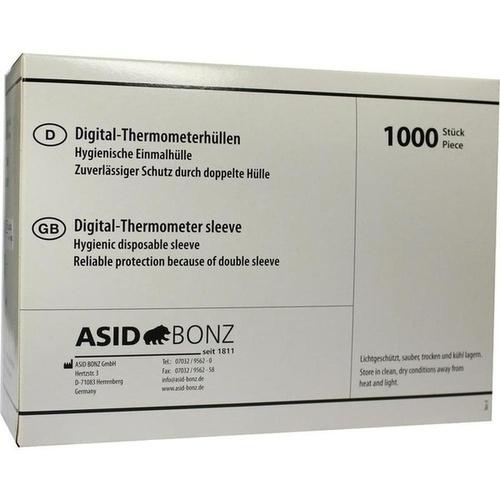 Thermometer-Einmalhüllen digital ohne Gleitmittel, 1000 ST, Asid Bonz GmbH