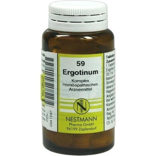ERGOTINUM KOMPL NESTM 59, 120 ST, Nestmann Pharma GmbH