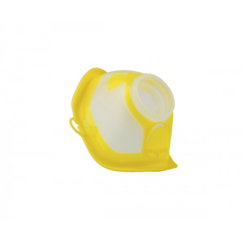 MicroDrop RF7 Maske Kind gelb, 1 ST, MPV Medical GmbH