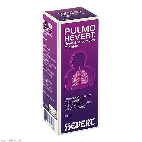 PULMO HEVERT Bronchialcomplex Tropfen, 50 ML, Hevert Arzneimittel GmbH & Co. KG