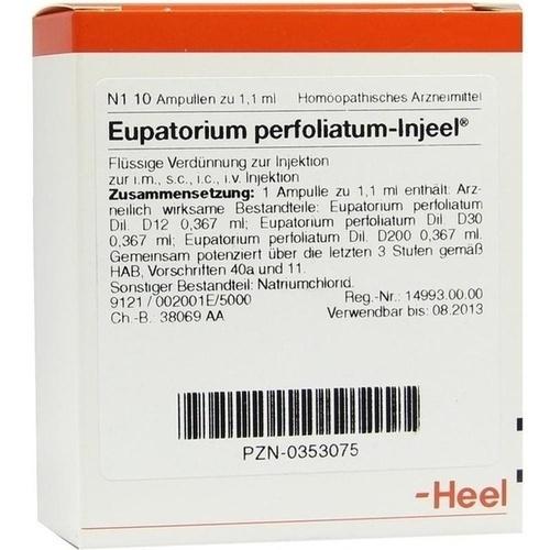 EUPATORIUM PERF INJ, 10 ST, Biologische Heilmittel Heel GmbH