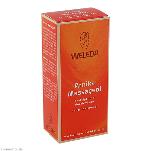 WELEDA ARNIKA Massage-Öl, 50 ML, Weleda AG