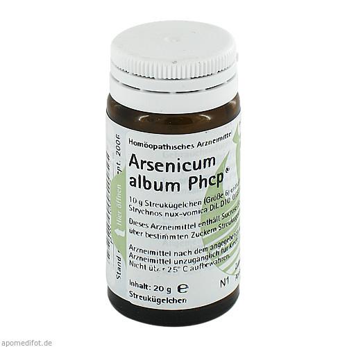 Arsenicum album Phcp, 20 G, Phönix Laboratorium GmbH
