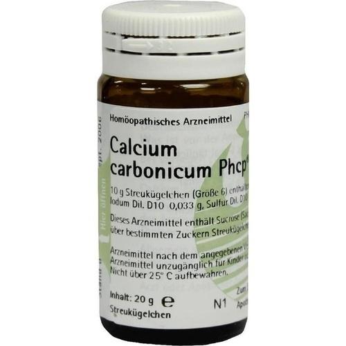 CALCIUM CARBONICUM PHCP Globuli, 20 G, PHÖNIX LABORATORIUM GmbH