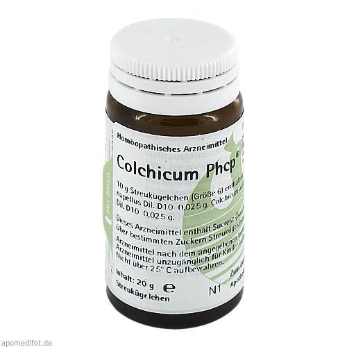 COLCHICUM PHCP Globuli, 20 G, PHÖNIX LABORATORIUM GmbH