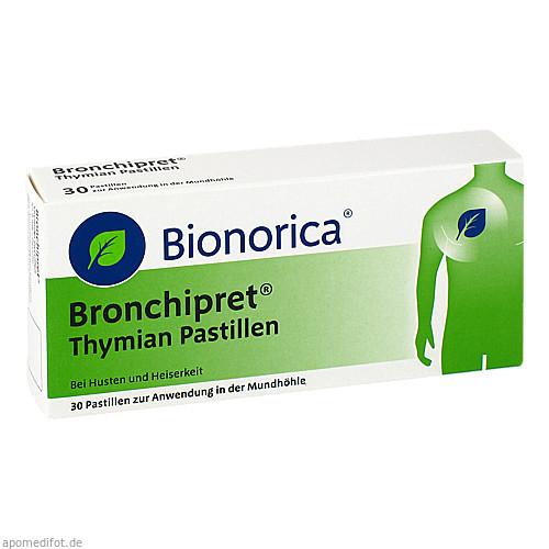 Bronchipret Thymian Pastillen, 30 ST, Bionorica Se