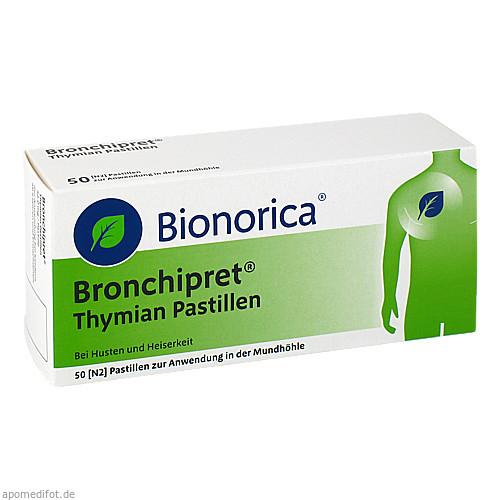 Bronchipret Thymian Pastillen, 50 ST, Bionorica Se