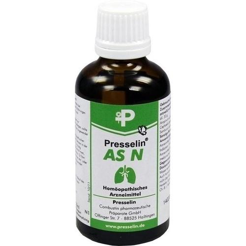 PRESSELIN AS N Tropfen, 50 ML, COMBUSTIN Pharmaz. Präparate GmbH