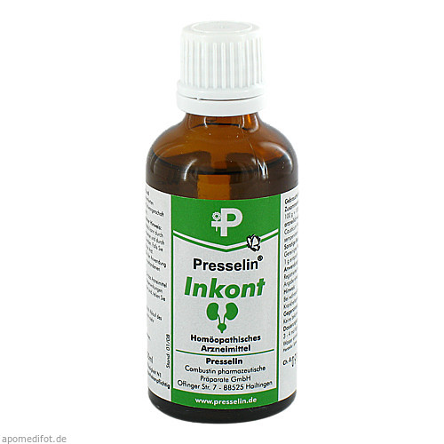 Presselin Inkont, 50 ML, Combustin Pharmaz. Präparate GmbH
