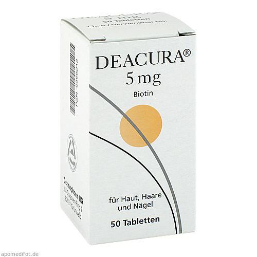 Deacura 5mg, 50 ST, Dermapharm AG
