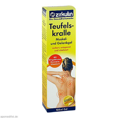 Zirkulin Teufelskralle Muskel- und Gelenkgel, 125 ML, Roha Arzneimittel GmbH
