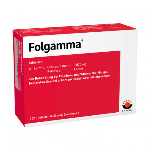FOLGAMMA, 100 ST, Wörwag Pharma GmbH & Co. KG