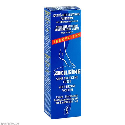 AKILEINE Nutri-Repair Karite-Regen.-Fusscreme, 100 ML, Labosept GmbH Cosmetica