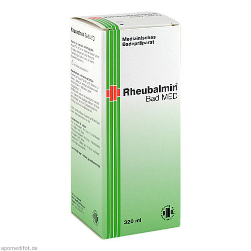Rheubalmin Bad MED, 320 ML, Carl Hoernecke GmbH