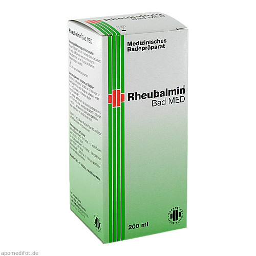 Rheubalmin Bad MED, 200 ML, Carl Hoernecke GmbH