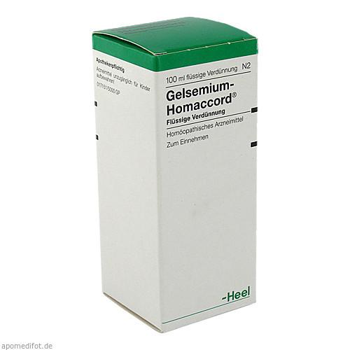 GELSEMIUM HOMACCORD, 100 ML, Biologische Heilmittel Heel GmbH