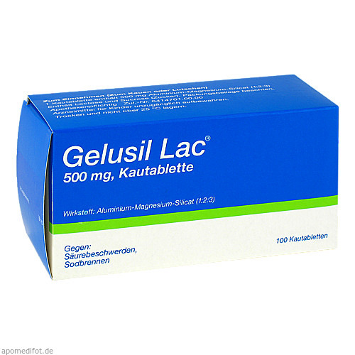 GELUSIL LAC, 100 ST, Cheplapharm Arzneimittel GmbH