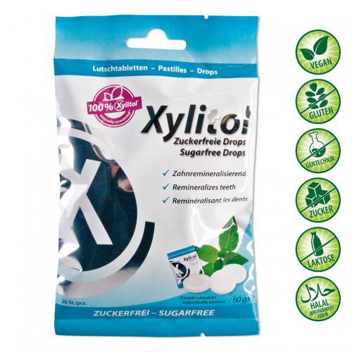 miradent Xylitol Drops Mint, 60 G, Hager Pharma GmbH