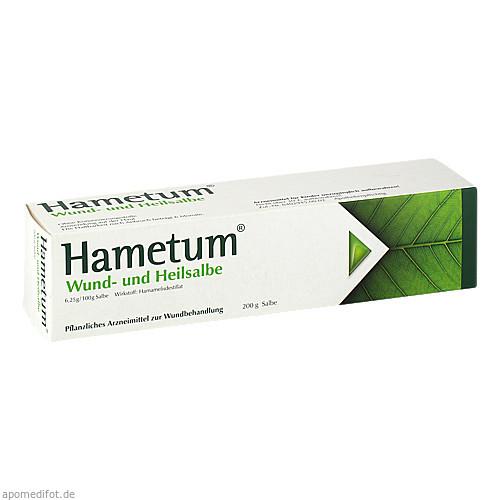 HAMETUM Wund- und Heilsalbe, 200 G, Dr.Willmar Schwabe GmbH & Co.KG