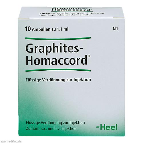 GRAPHITES HOMACCORD, 10 ST, Biologische Heilmittel Heel GmbH