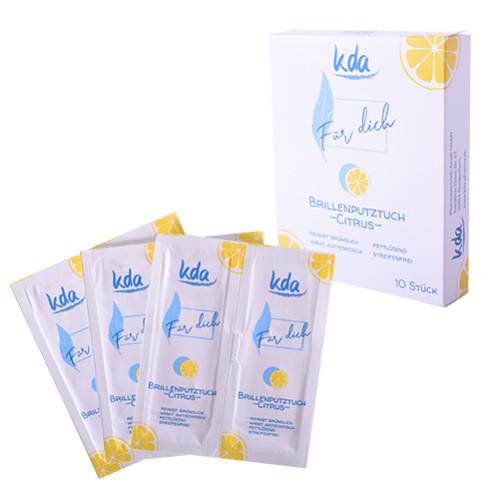 Brillenputztuch KDA, 10 ST, Kda Pharmavertrieb Arndt GmbH