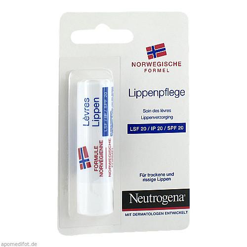 NEUTROGENA Norweg.Formel LIPPENPF LSF 20 Blister, 4.8 G, Johnson & Johnson GmbH