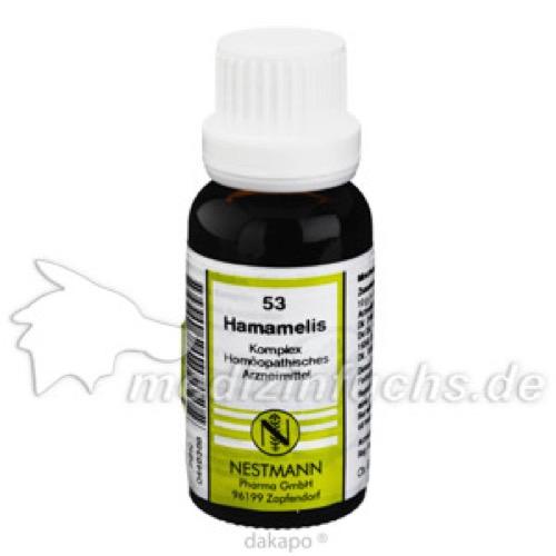 HAMAMELIS KOMPL NESTM 53, 20 ML, Nestmann Pharma GmbH