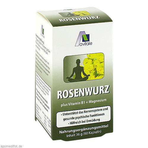 Rosenwurz Kapseln 200mg, 60 ST, Avitale GmbH