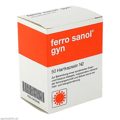 Ferro Sanol gyn, 50 ST, UCB Pharma GmbH