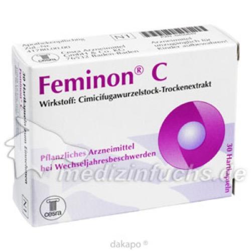Feminon C, 30 ST, Cesra Arzneimittel GmbH & Co. KG