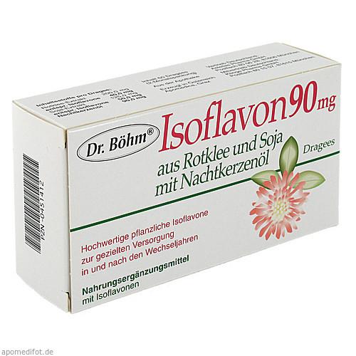 Dr. Böhm Isoflavon 90mg Dragees, 60 ST, Apomedica Pharmazeutische Produkte GmbH
