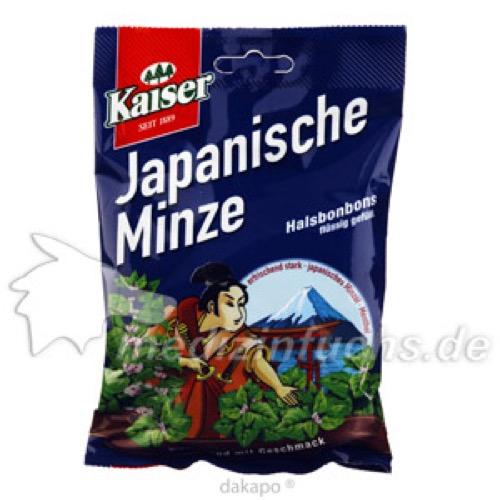 Kaiser Japanische Minze Bonbons gefüllt, 90 G, Fr. Kaiser GmbH