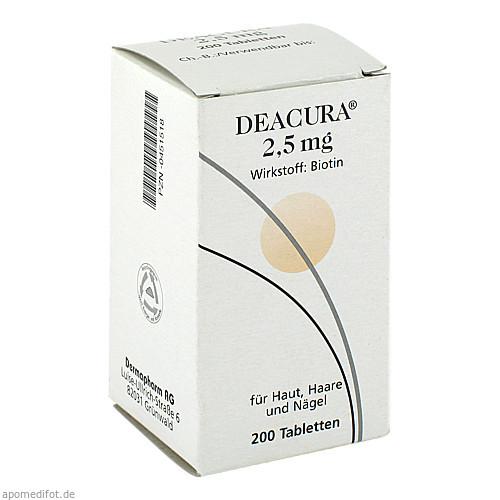 Deacura 2.5mg, 200 ST, Dermapharm AG