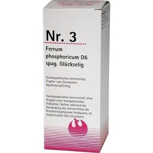 Nr. 3 Ferrum phosphoricum D6 spag. Glückselig, 100 ML, Phönix Laboratorium GmbH