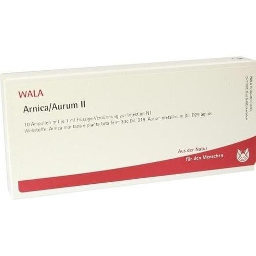 ARNICA/AURUM II, 10X1 ML, Wala Heilmittel GmbH