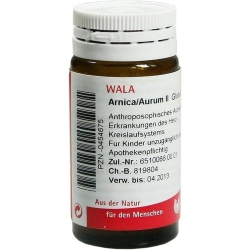ARNICA/AURUM II, 20 G, Wala Heilmittel GmbH