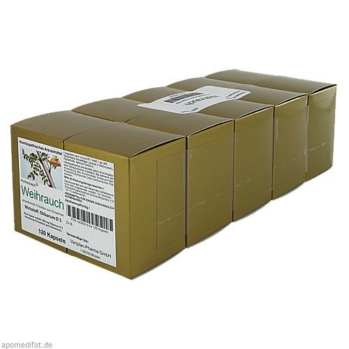 WEIHRAUCH KAPSELN, 600 ST, Vaniplan Pharma GmbH