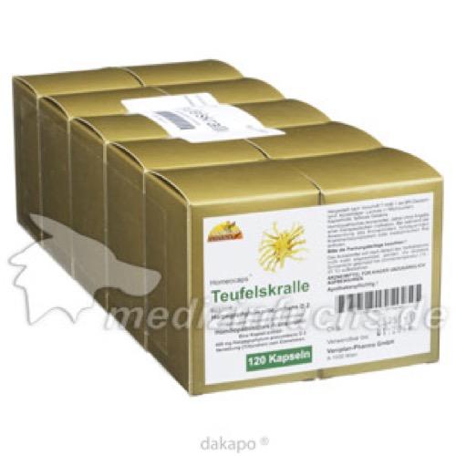 TEUFELSKRALLE KAPSELN, 120 ST, Vaniplan Pharma GmbH