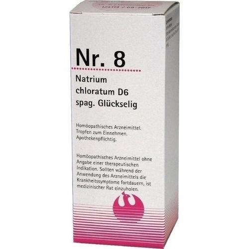 Nr. 8 Natrium chloratum D6 spag. Glückselig, 100 ML, Phönix Laboratorium GmbH