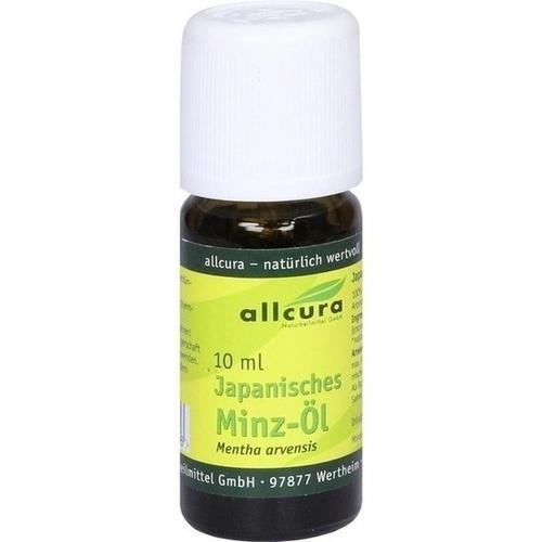 JAPANISCHES Minzöl ätherisch, 10 ML, allcura Naturheilmittel GmbH