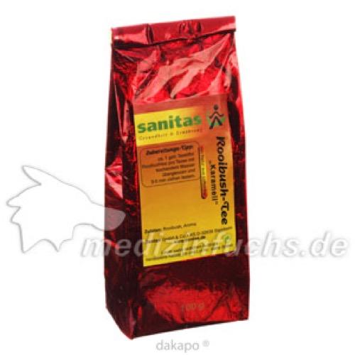 Rooibush-Karamel, 100 G, Sanitas GmbH & Co. KG